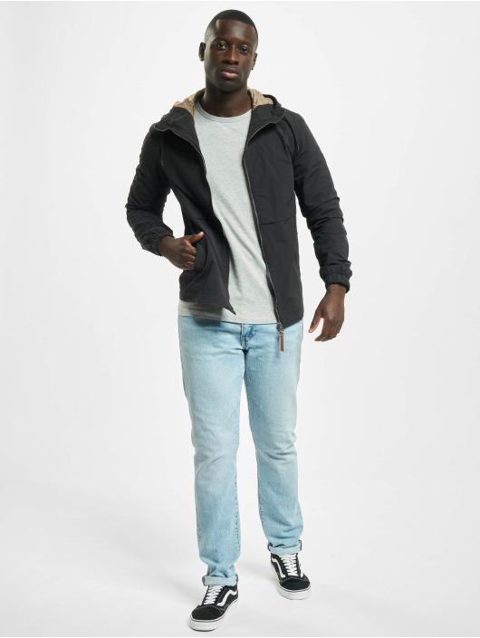 Urban Classics T-skjorter Fitted Stretch grå