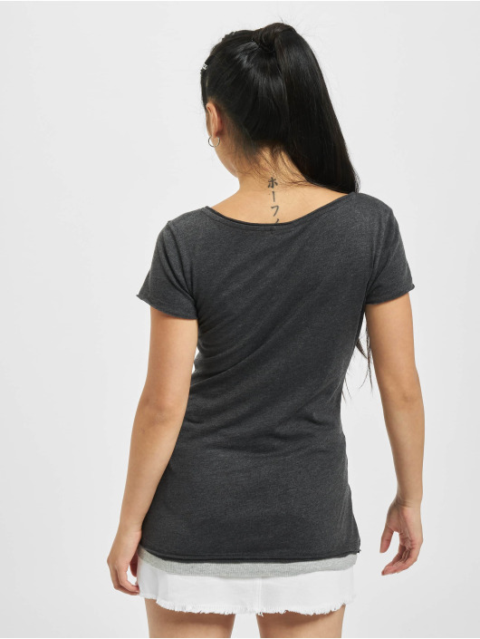 Urban Classics T-skjorter Two Colored grå