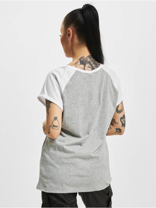 Urban Classics T-skjorter Contrast grå