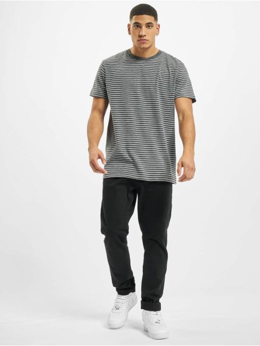 Urban Classics T-skjorter Basic Stripe grå
