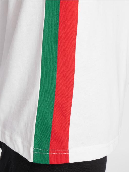 Urban Classics T-skjorter Side Stripe Raglan hvit