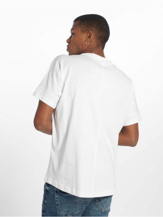 Urban Classics T-skjorter Oversize Cut On Sleeve hvit
