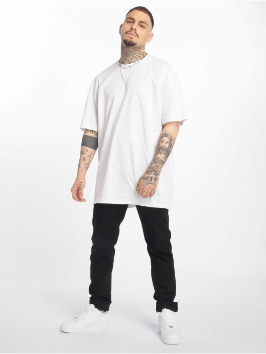 Urban Classics T-skjorter Mesh Panel hvit