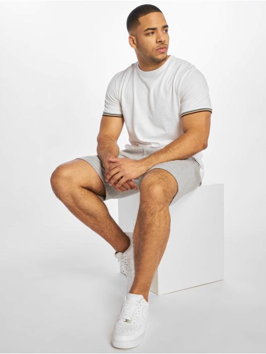 Urban Classics T-skjorter Rib Ringer hvit