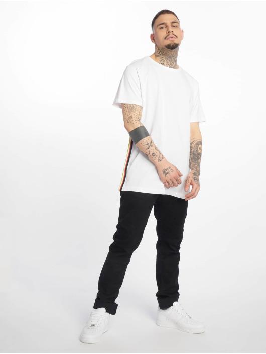 Urban Classics T-skjorter Side Taped hvit