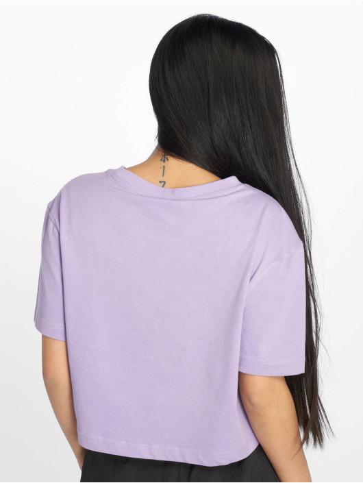 Urban Classics T-skjorter Short Oversized lilla