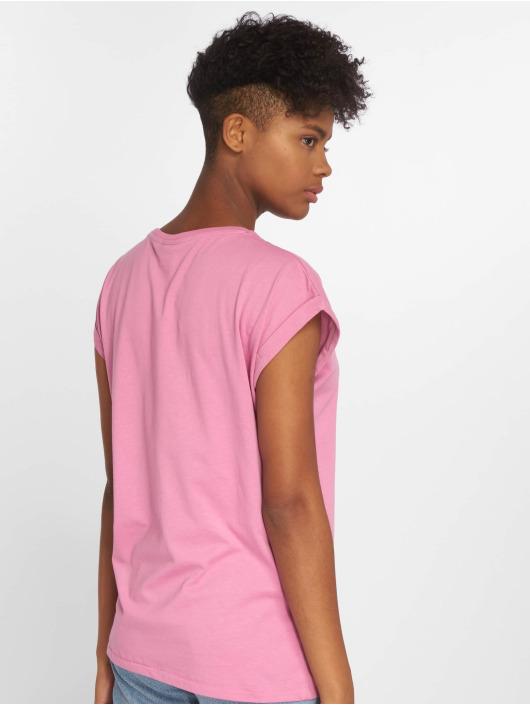 Urban Classics T-skjorter Extended lyserosa