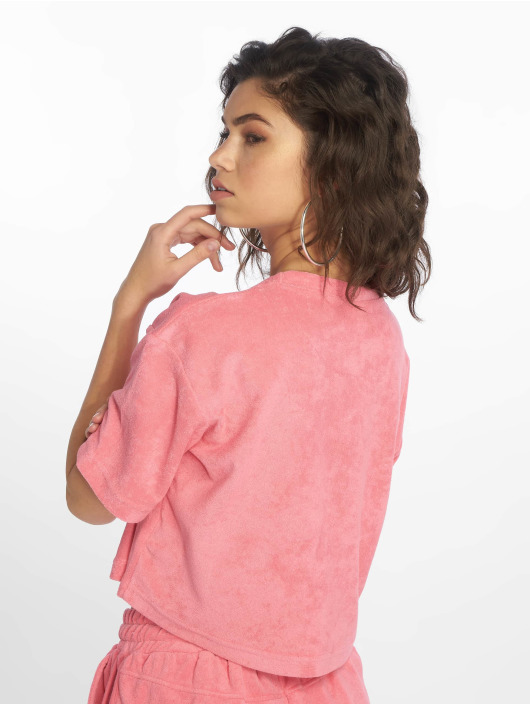 Urban Classics T-skjorter Short Towel lyserosa