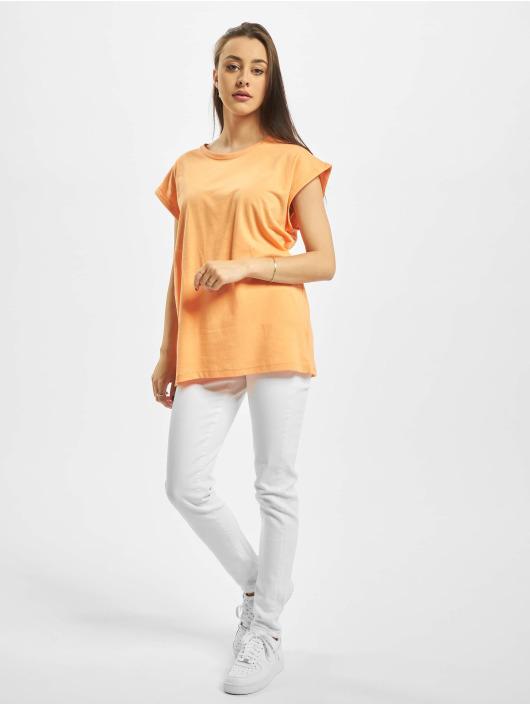 Urban Classics T-skjorter Extended Shoulder oransje