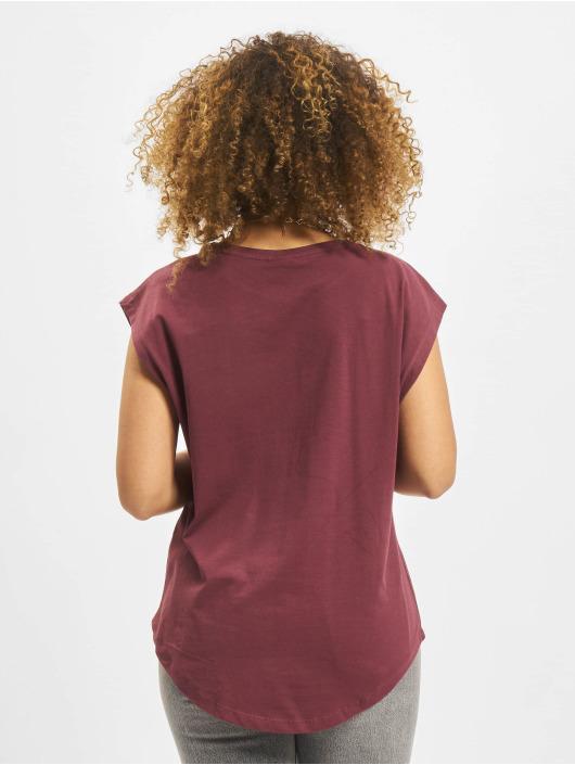 Urban Classics T-skjorter Basic Shaped red
