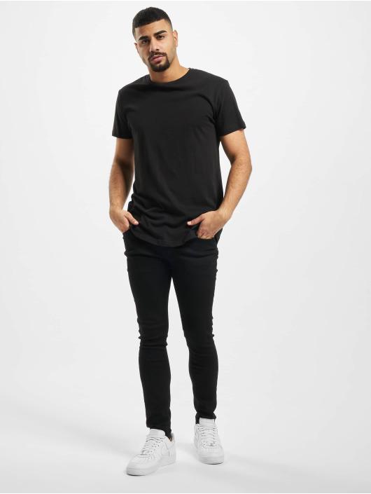 Urban Classics T-skjorter Shaped Long svart