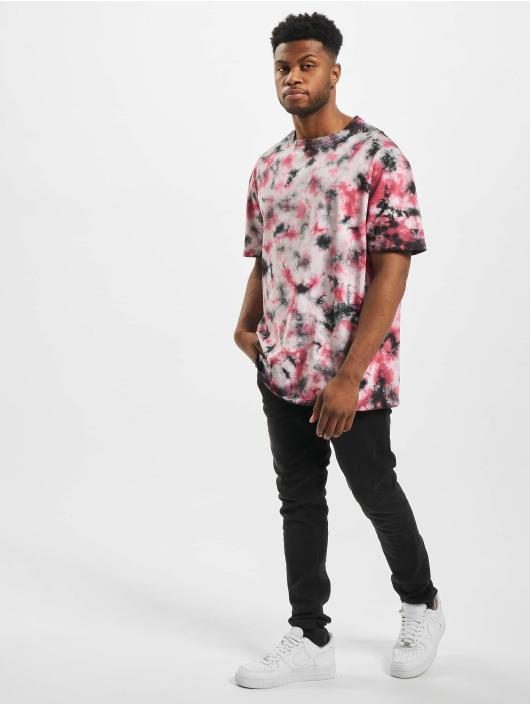 Urban Classics T-skjorter Black Tie Dye Oversized svart