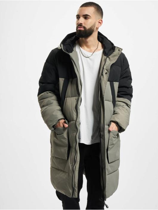 Urban Classics Täckjackor Puffer grå