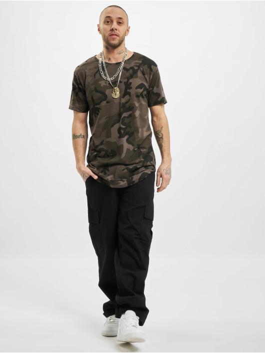 Urban Classics Tall Tees Camo Shaped Long camouflage