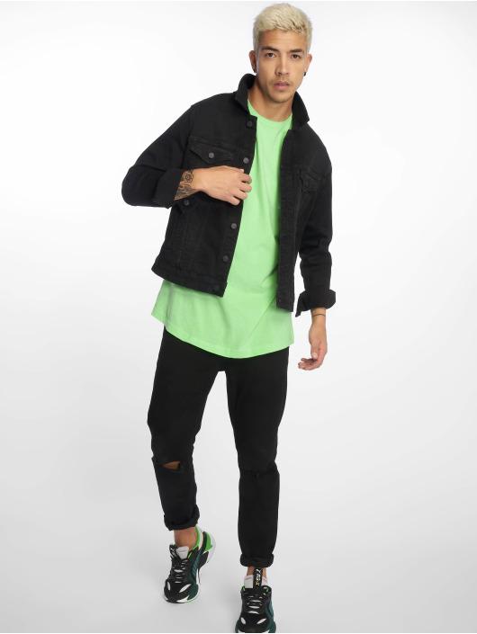 Urban Classics Tall Tees Shaped Long grøn