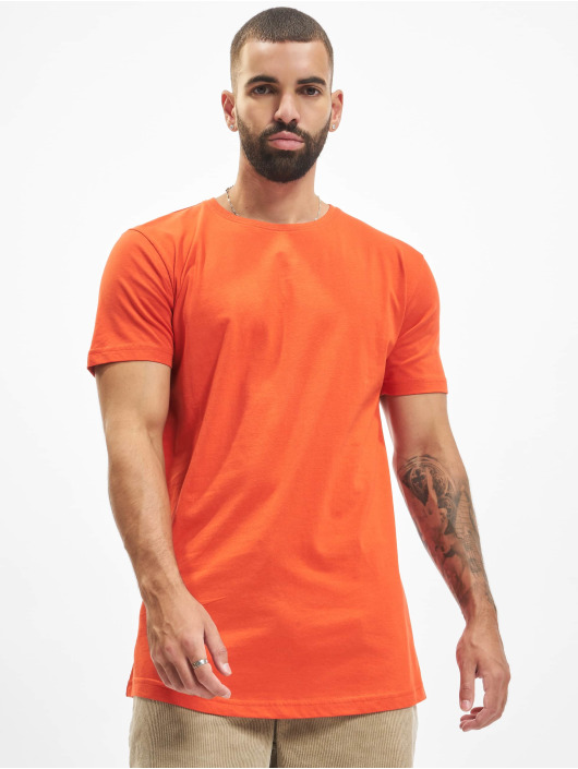 Urban Classics Tall Tees Shaped Long red