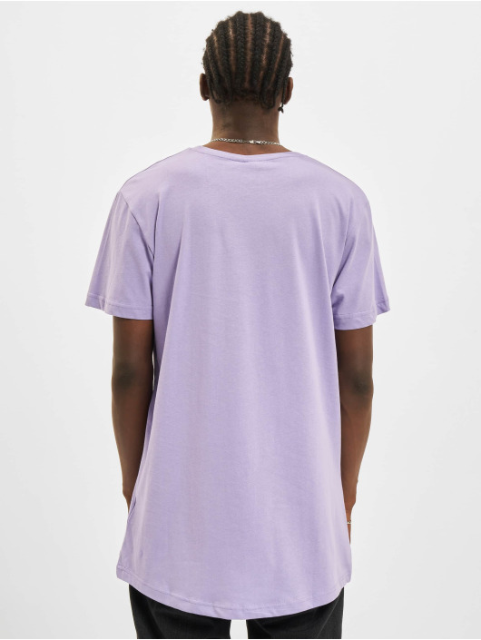 Urban Classics Tall Tees Shaped Long violet