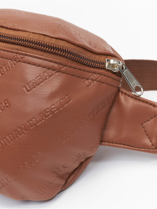 Urban Classics tas Leather Imitation bruin