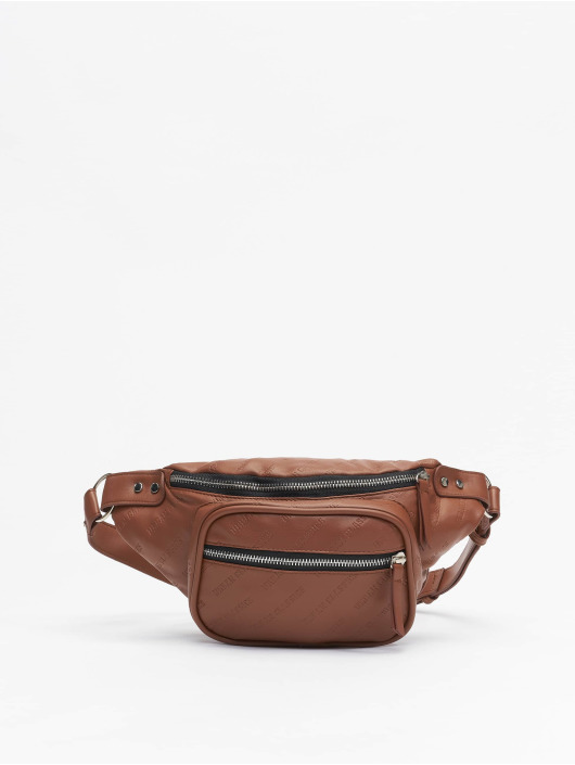 Urban Classics tas Imitation Leather Shoulder bruin