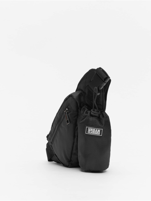 Urban Classics tas Shoulderbag With Can Holder zwart