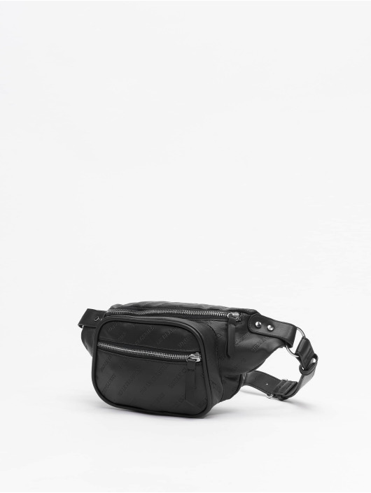 Urban Classics tas Imitation Leather Shoulder zwart