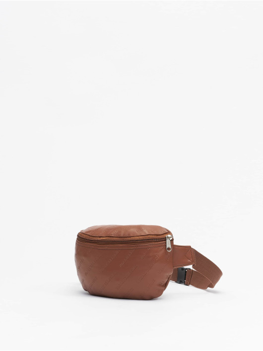 Urban Classics Tasche Leather Imitation braun