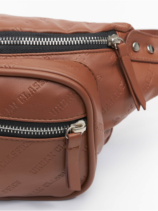 Urban Classics Tasche Imitation Leather Shoulder braun