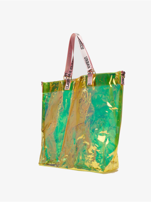 Urban Classics Tasche Transparent orange