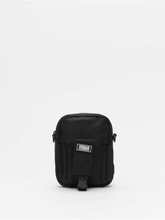 Urban Classics Tasche Printed schwarz