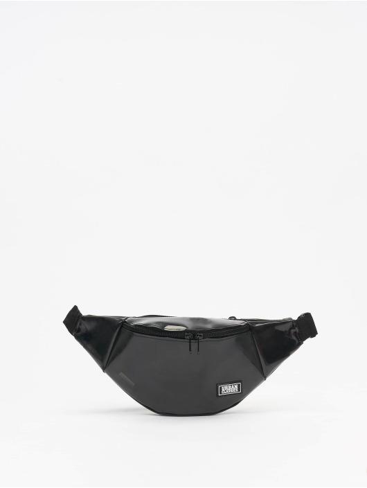 Urban Classics Tasche Transparent Shoulder schwarz