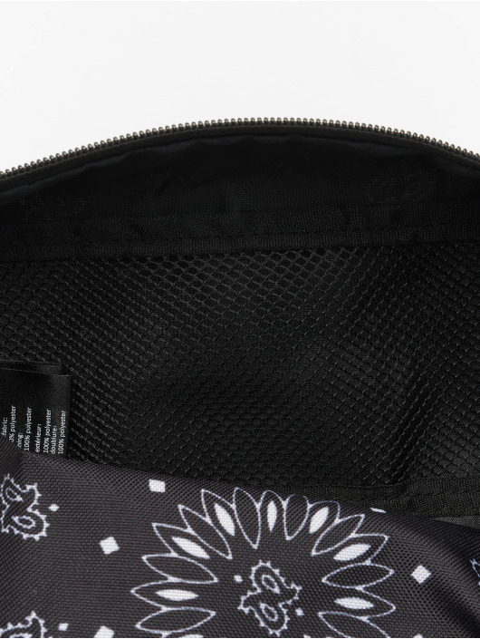Urban Classics Tasche Bandana Print Cosmetic schwarz