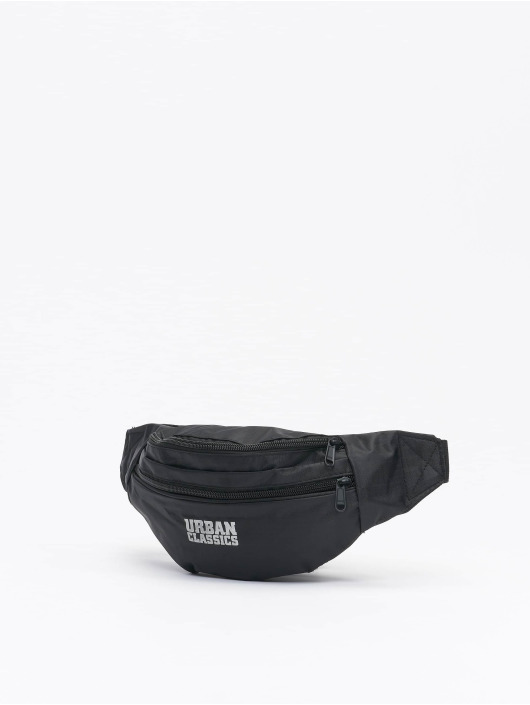 Urban Classics Tasche Recycled Ribstop Double Zip Shoulder schwarz