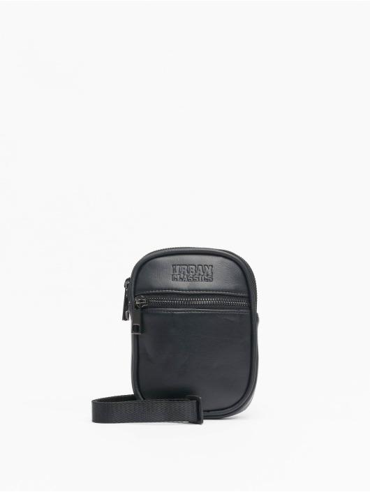 Urban Classics Taske/Sportstaske Imitation Leather Neckpouch sort