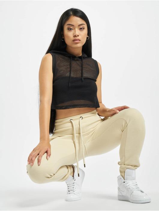 Urban Classics Top Mesh Hooded black