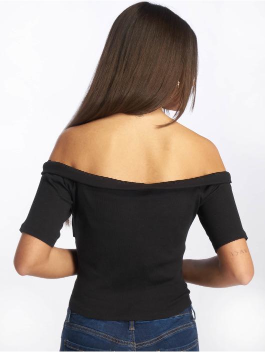 Urban Classics Top Off Shoulder black