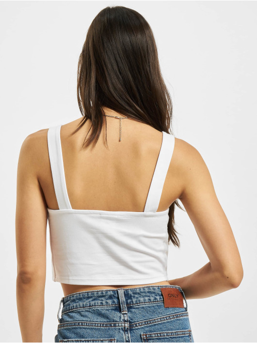 Urban Classics Tops Cropped bialy