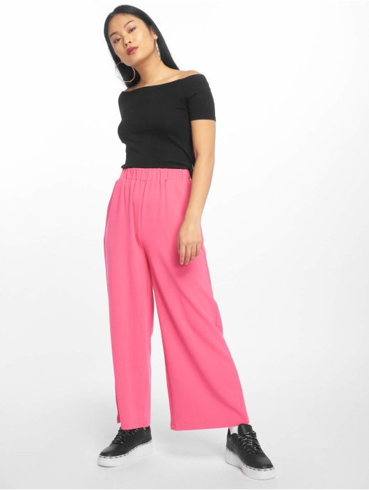 Urban Classics Tops Off Shoulder Rib czarny