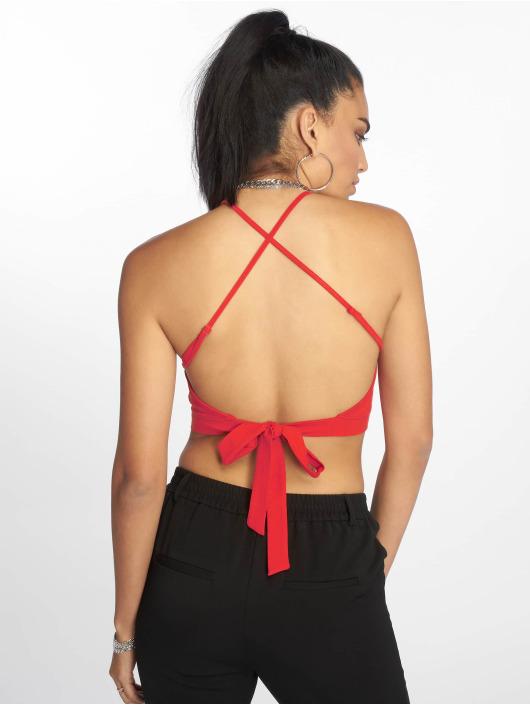 Urban Classics Tops Triangle Top czerwony