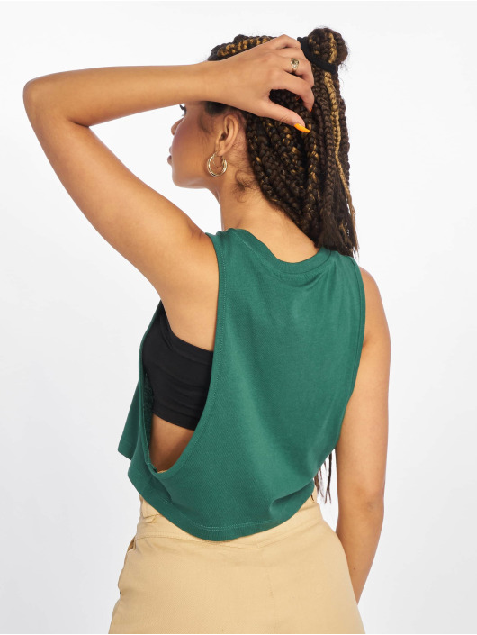 Urban Classics Tops Loose zielony
