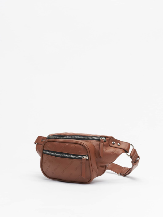 Urban Classics Torby Imitation Leather Shoulder brazowy