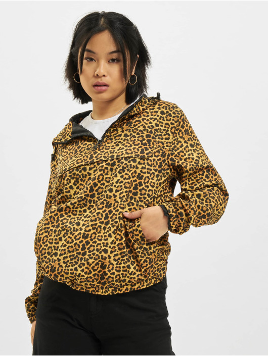 Urban Classics Transitional Jackets Pattern Pull Over brun