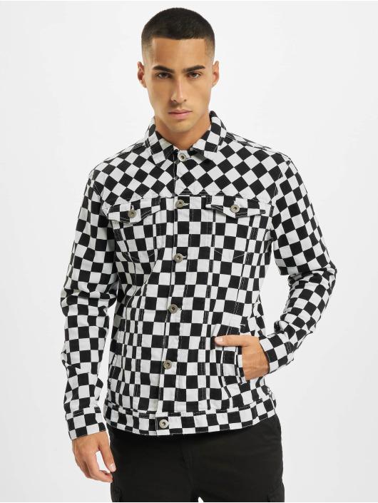 Urban Classics Transitional Jackets Check Twill grå