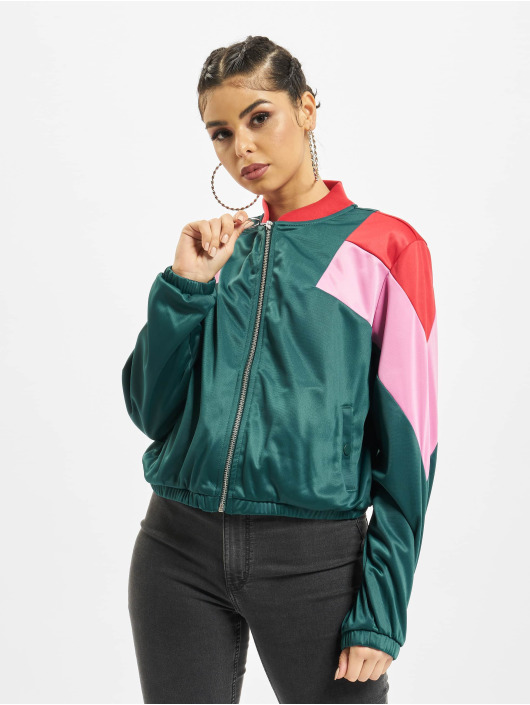 Urban Classics Transitional Jackets 3-Tone grøn