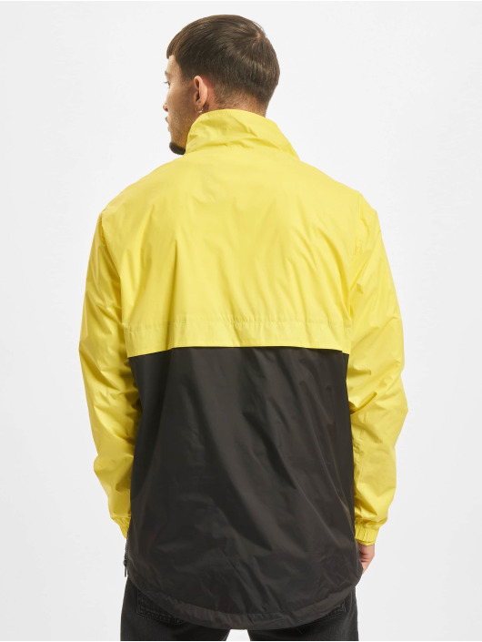 Urban Classics Transitional Jackets Stand Up Collar Pull Over gul