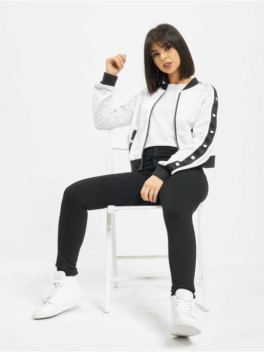 Urban Classics Transitional Jackets Button Up hvit