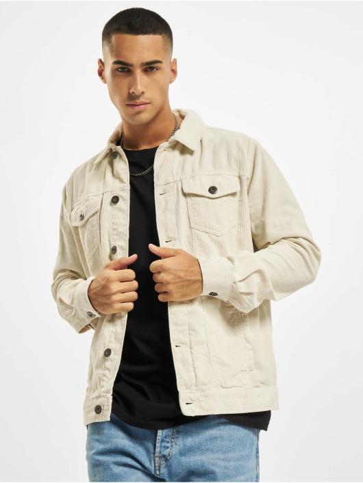 Urban Classics Transitional Jackets Corduroy hvit