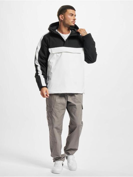 Urban Classics Transitional Jackets 3-Tone Padded Pull Over hvit