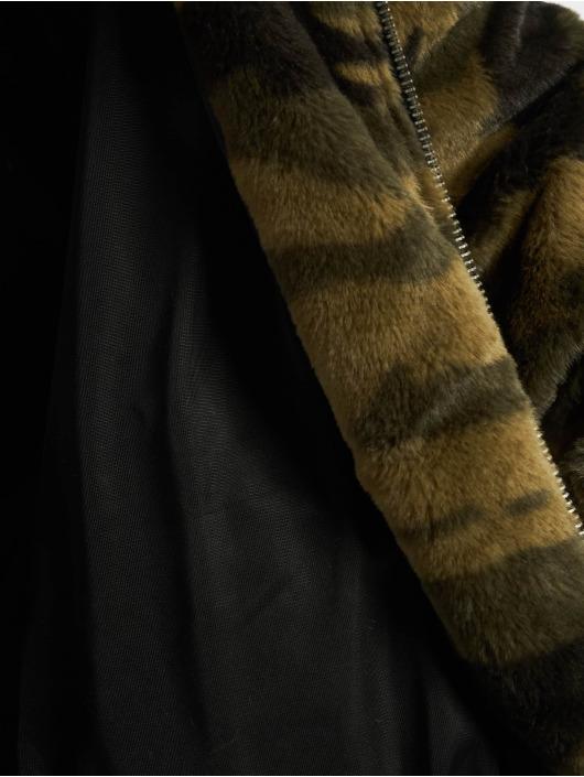 Urban Classics Transitional Jackets Camo Teddy kamuflasje