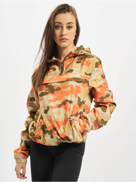 Urban Classics Transitional Jackets Ladies Camo Pull Over kamuflasje