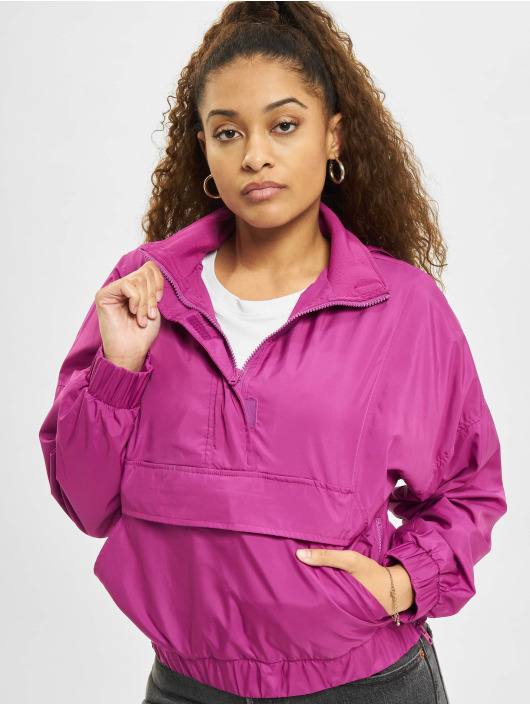 Urban Classics Transitional Jackets Panel Pull Over lilla